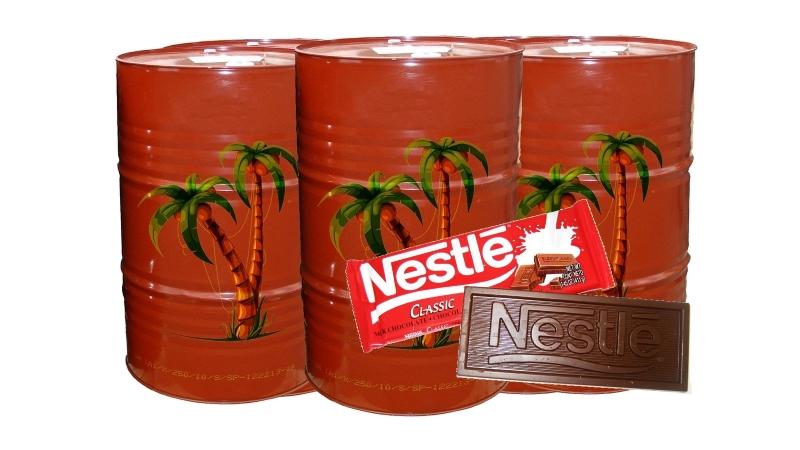 Производители не хотят обнародовать содержание пальмового масла в своих продуктах