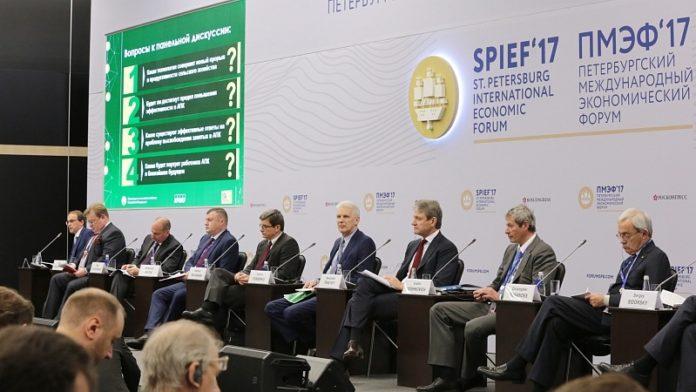 Александр Ткачев рассказал об инновациях в сельском хозяйстве на ПМЭФ'17
