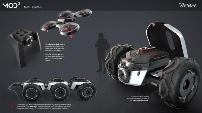 Проект трактора будущего MOD² стал победителем конкурса, проведенного компанией Valtra