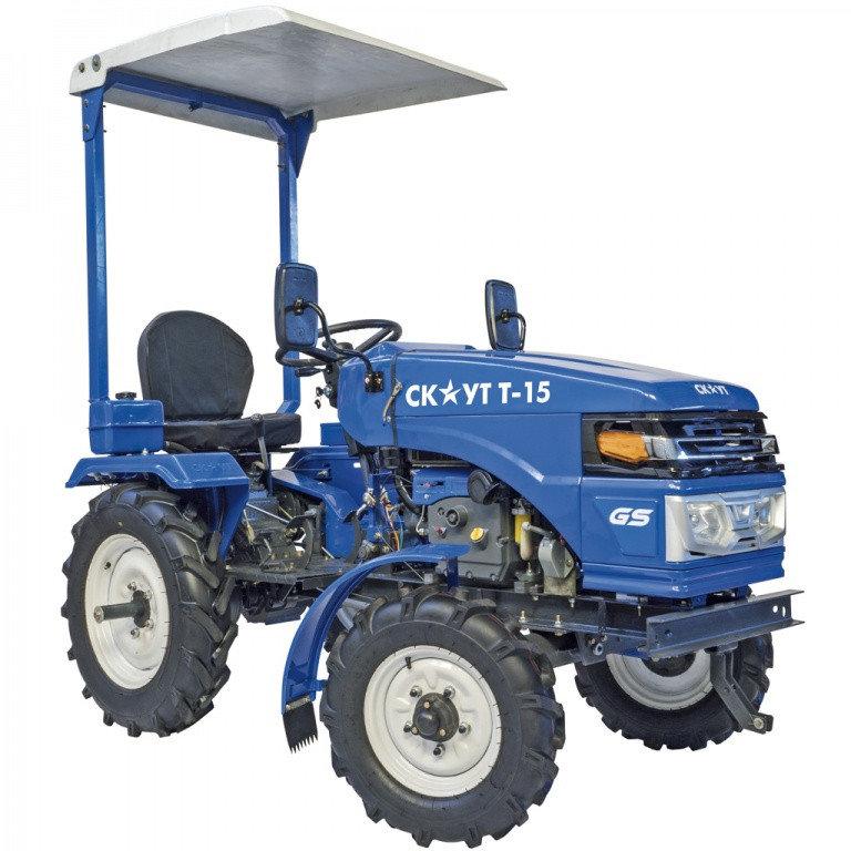 Minitraktor Skaut T 15 2