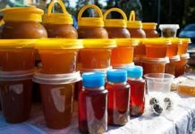 На рынке в Саратове стартовала медовая ярмарка