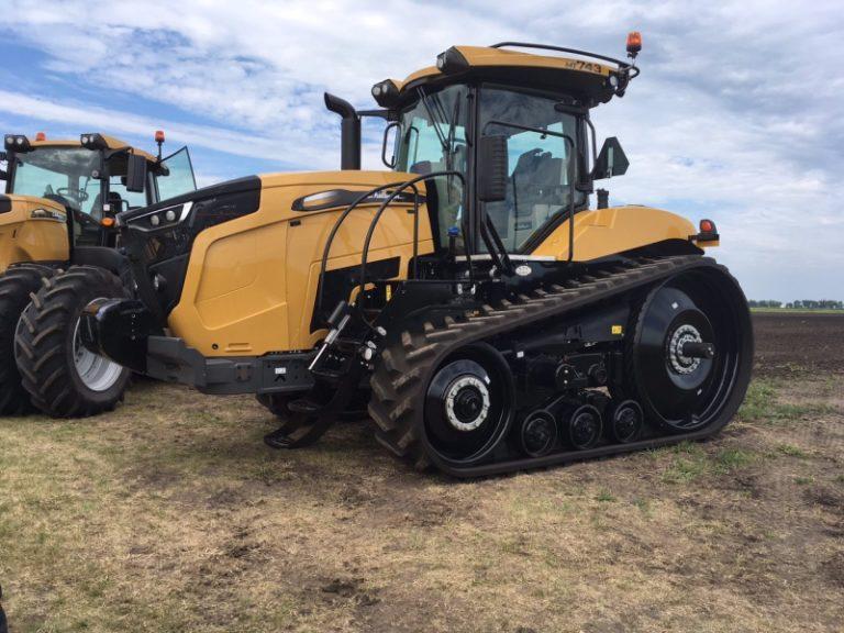 Трактор Challenger MT700 становится похожим на Fendt