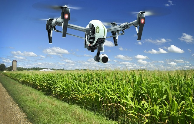 Подмосковные агрономы смогут получать данные о состоянии полей при помощи беспилотников