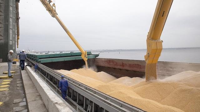 За прошедшую неделю порты Ростовской области экспортировали 235 тыс. тонн зерна
