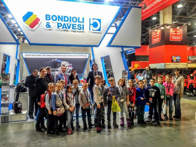 Компоненты успеха Bondioli & Pavesi на выставке АГРОСАЛОН