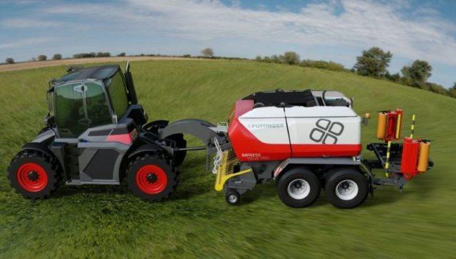 Новый прототип системного трактора из Австрии