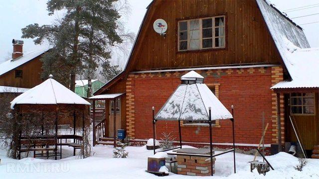Что делать зимой на даче