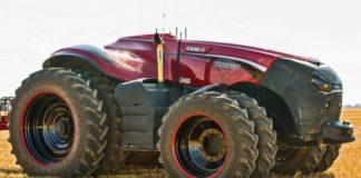 Беспилотный трактор Case IH Magnum