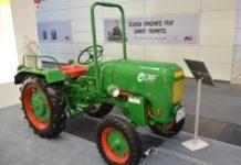Немецкий дилер компании Caterpillar продемонстрировал электрический трактор