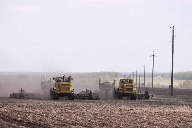 Посевная в Новосибирской области стартует в конце апреля