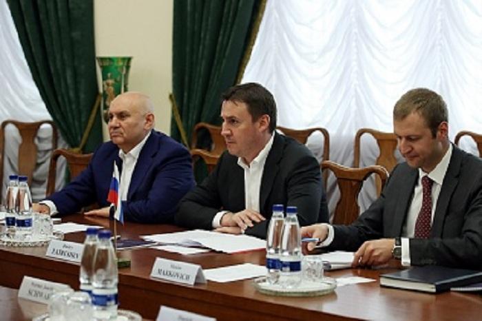 Дмитрий Патрушев встретился с Президентом Немецкого крестьянского союза