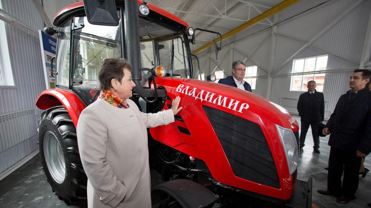 Трактор ставят на поток
