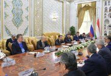 Дмитрий Патрушев принял участие в российско-таджикистанских переговорах