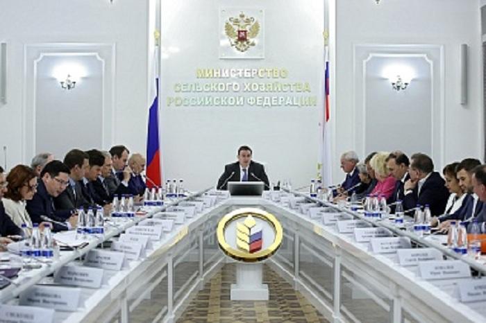 Дмитрий Патрушев провел рабочую встречу с руководителями отраслевых союзов и ассоциаций АПК