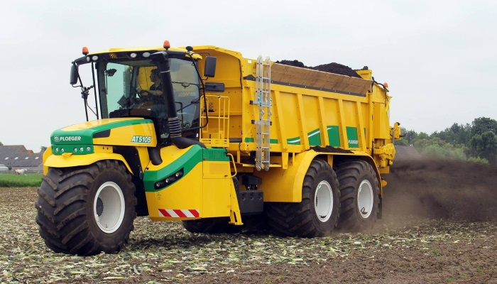 """Компания Ploeger проводит полевые испытания своего первого """"пятиколесника"""""""