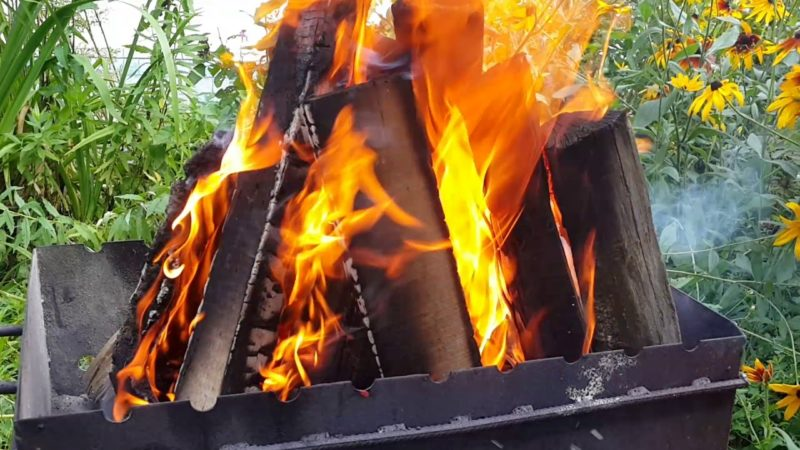 Зачем обжигать дачный инструмент