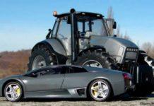 Тракторы Lamborghini