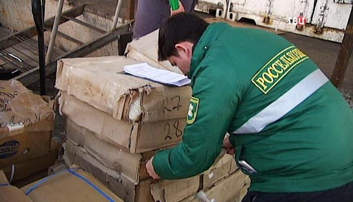 Инспекторы Россельхознадзора вернули в Казахстан 100 тонн сельхозпродукции