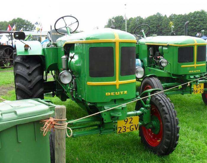Deutz F3M514 1951 год.