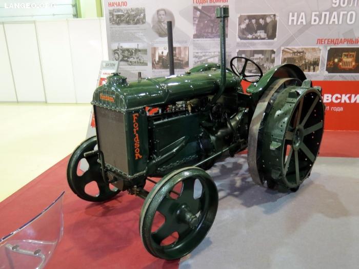 Fordson model F или Фордзон-Путиловец