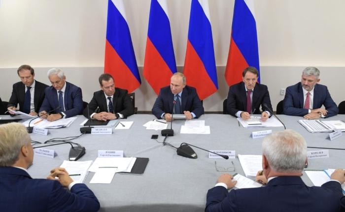 Владимир Путин провел всероссийское совещание по вопросам развития сельского хозяйства