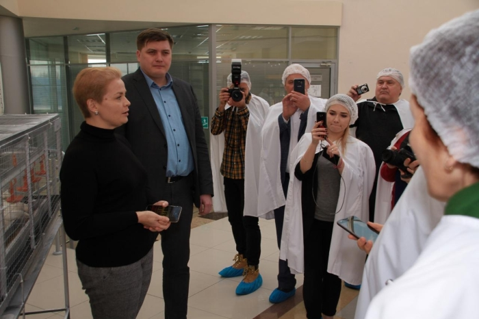 Генеральный директор АО «Агросила» Светлана Барсукова презентовала планы по развитию Холдинга в рамках пресс-тура