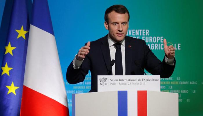 Макрон призвал ЕС преодолеть зависимость от других государств в сельском хозяйстве