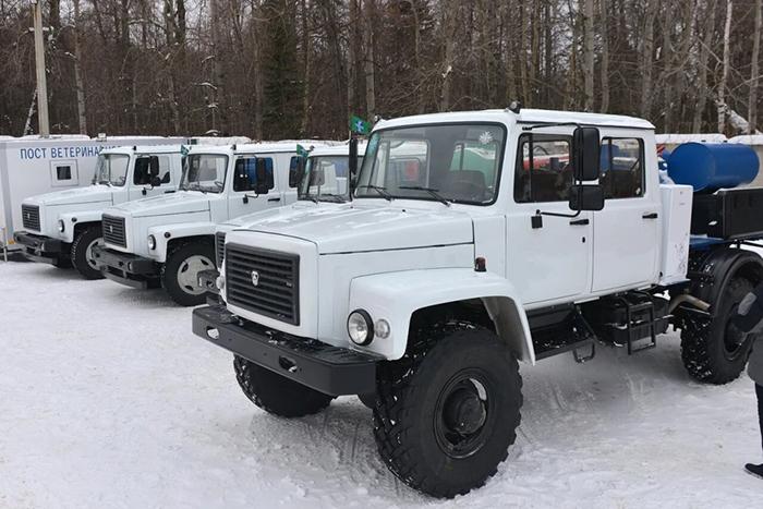 Ветеринарная служба Удмуртии получила новые спецавтомобили