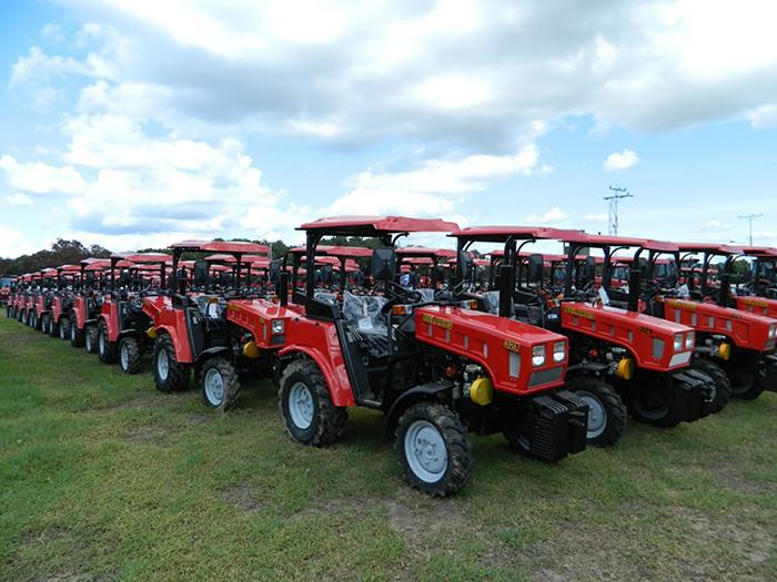 Экспорт тракторов из Беларуси продолжил снижаться в 2019 году