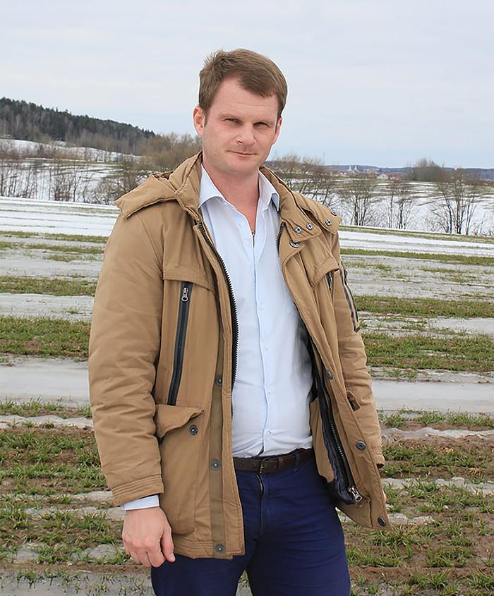 Главный агроном СК «Логойский» Дмитрий Солодков о том, как сеять меньше, но убирать больше