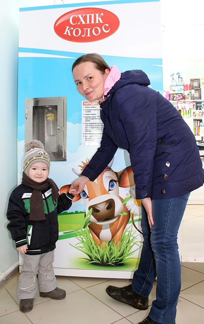 В Удмуртии заработал первый молочный автомат