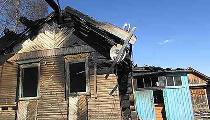 В Забайкалье пьяная мать подожгла дом с детьми: «они мне надоели»
