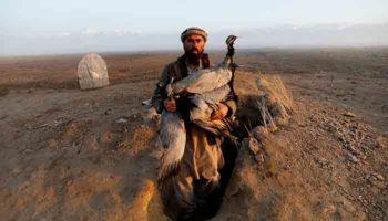 Вынужденная посадка: как афганцы охотятся на журавлей