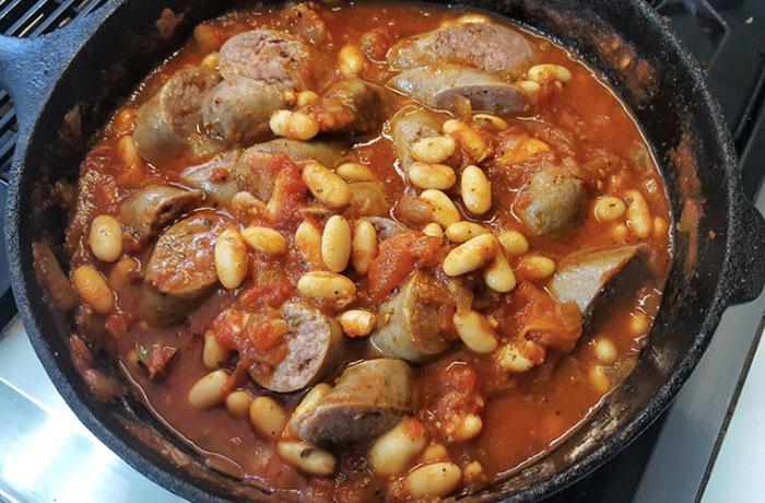 Не используйте для блюд итальянские колбаски