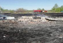 Сжигая сухую траву пенсионерка в Татарстане сожгла еще и дачу