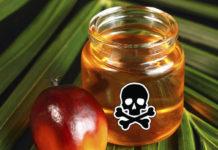 В каких продуктах есть пальмовое масло список