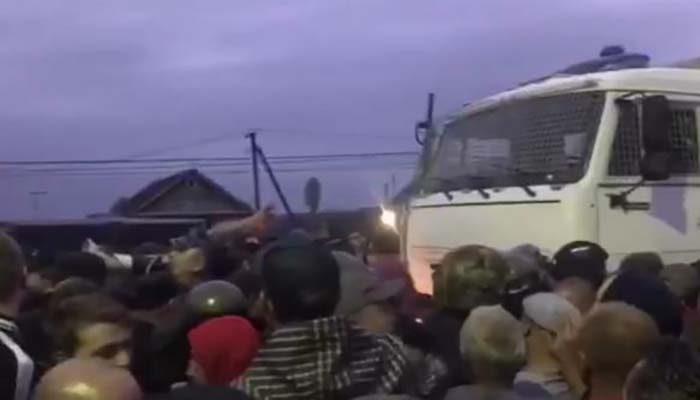 В российском селе началась «война» против цыган