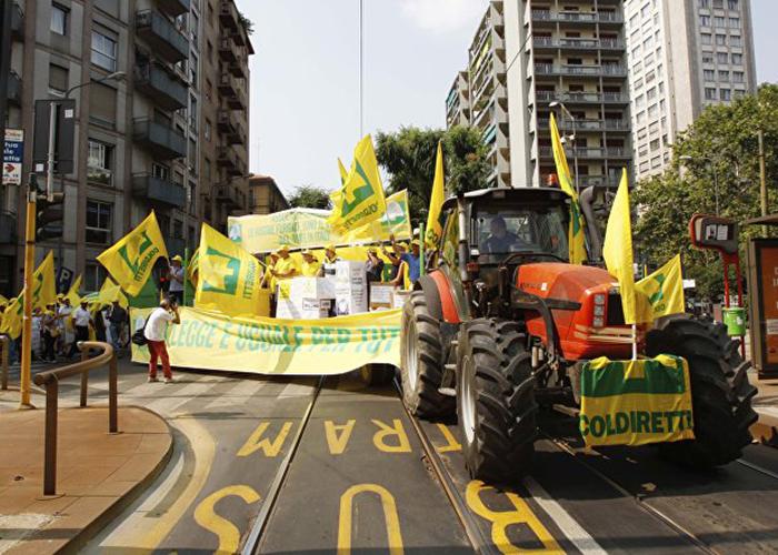 Итальянские аграрии жалуются на последствия ответных российских санкций