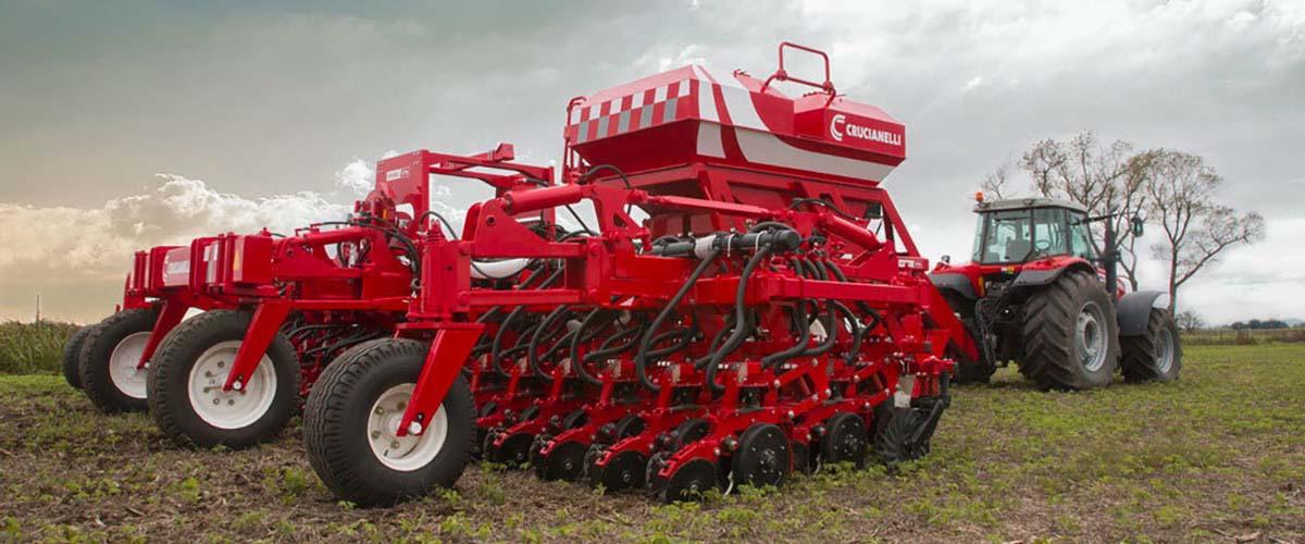 Производитель сеялок прямого посева в Аргентине завод CRUCIANELLI представит на рынок России обновленные посевные комплексы