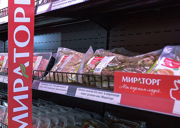 Челябинский предприниматель заплатил 300 тыс. рублей за подделку маркировка мяса «Мираторг»