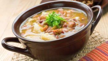Крестьянский суп со свежей капустой