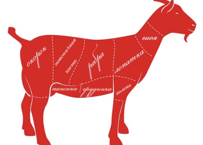 Разделка козы