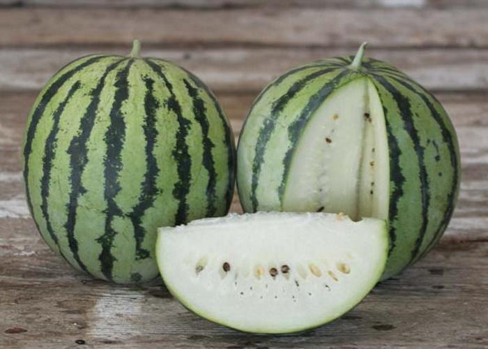 В Астраханской области создали сорт белого арбуза