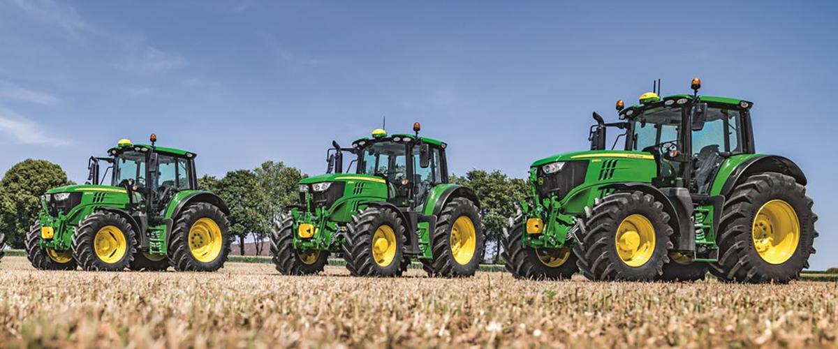 John Deere представляет новую серию производительных тракторов