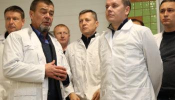 Руководство Минсельхозпрода Татарстана посетило мясоперерабатывающий комплекс «Каусар» в Лаишевском районе