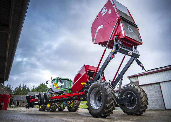 Камнеуборочная машина Kongskilde Stonebear способствует повышению продуктивности фермерских хозяйств России