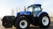 На выставке Agritechnica 2019 New Holland представляет первый в мире серийный трактор T6 с силовой установкой на метановом топливе