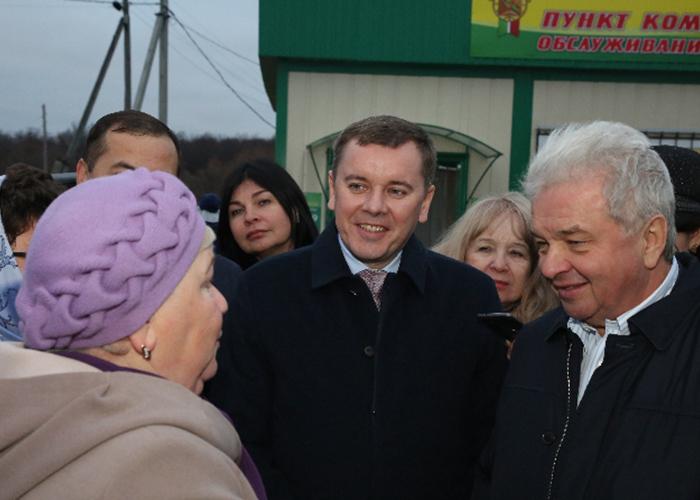 Председателю Совета Центросоюза РФ Дмитрию Зубову презентовали новый формат сельских магазинов в Татарстане