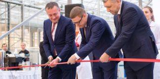 Агрохолдинг Чурилово открыл один из крупнейших тепличных комплексов