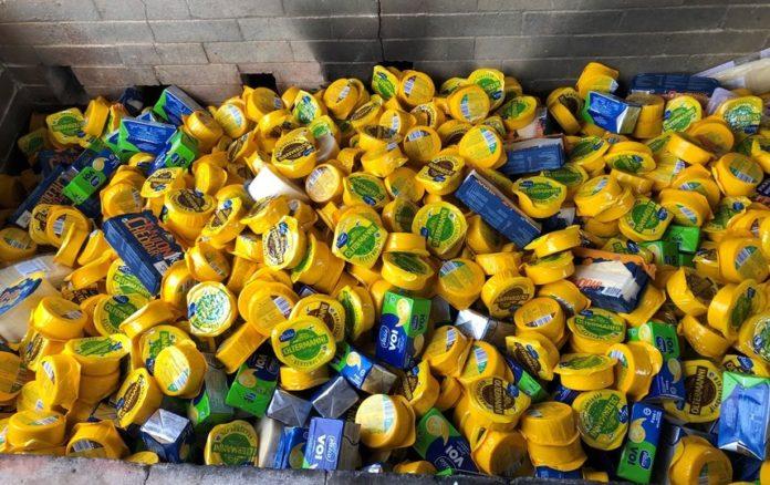В Ленинградской области изъято и уничтожено почти две тонны сыра и масла